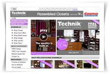 technikclosets site